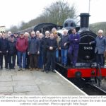 752 members' and friends' launch train