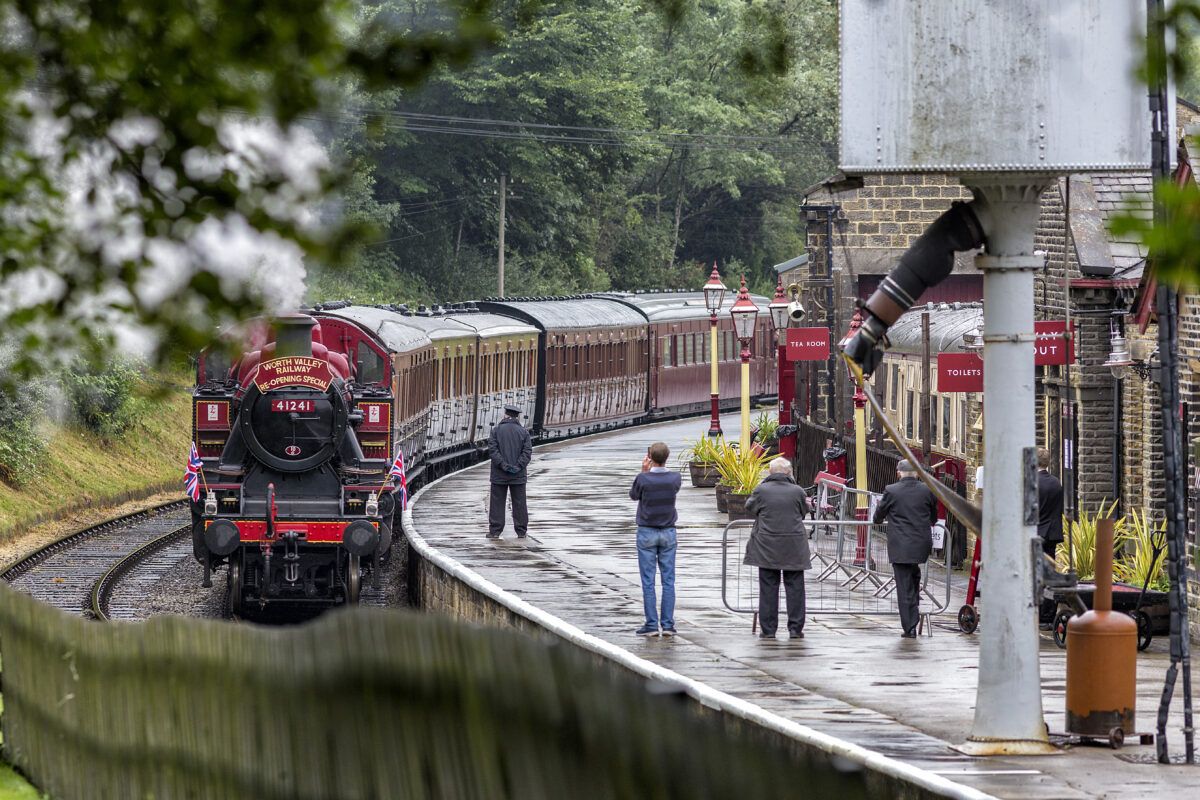 Carriages in use on Worth Valley